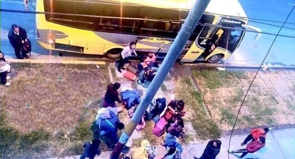 Este asalto frustró un viaje de promoción de escolares del sexto grado de colegio de Áncash. (PNP)