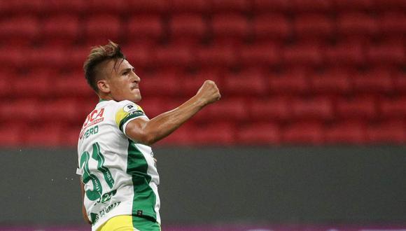 Braian Romero es uno de los futbolistas de Defensa y Justicia que se contagió de coronavirus. (Foto: EFE)