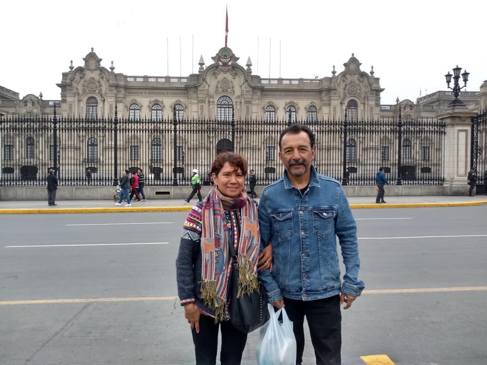 Pareja de mexicanos llegó a nuestro país para un recorrido turístico. (Foto: GEC)