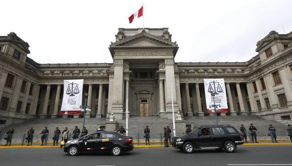Palacio de Justicia. (Perú21)