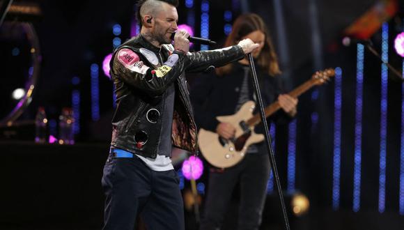 Maroon 5 realizará un concierto virtual el próximo 30 de marzo a través de LIVENow. (Foto: JAVIER TORRES / AFP)
