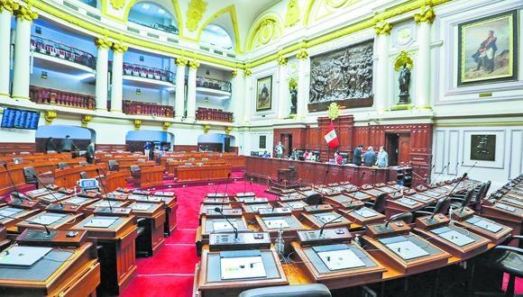 El Pleno del Congreso inició el debate de reforma constitucional que restituye la bicameralidad. (photo.gec)