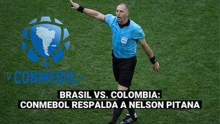 Copa América: Conmebol respaldó a Néstor Pitana tras el partido Brasil-Colombia