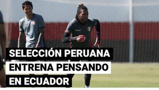 Copa América: Perú se prepara con miras al partido frente a Ecuador