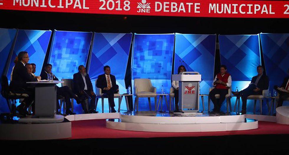 Propuestas imposibles y puyazos marcaron el primer debate. (Renzo Salazar)
