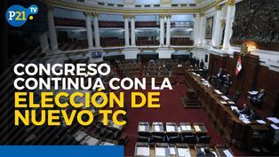 Congreso continúa con la elección del nuevo TC