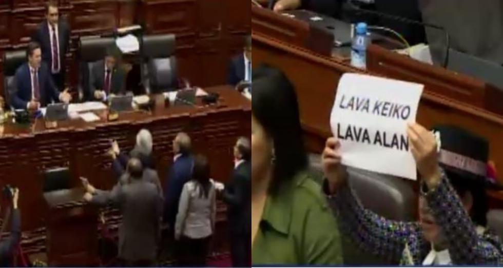 El informe en mayoría de la Comisión Lava Jato presidido por Rosa Bartra no señala imputaciones contra Alan García a diferencia del documento en minoría del legislador Humberto Morales. (Captura)
