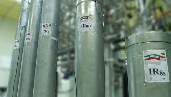 Imagen referencial. En enero de 2020 el Gobierno iraní anunció que dejaba de cumplir en la práctica con las limitaciones impuestas a su programa atómico por el acuerdo nuclear de 2015. (AFP/HO)