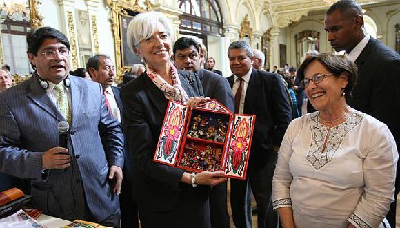 Lagarde, directora del FMI, cree que políticas macroeconómicas del Perú son de alta calidad. (Perú21)