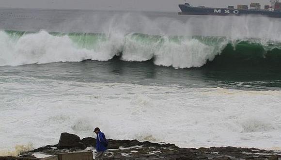 La Dirección de Hidrografía y Navegación de la Marina de Guerra del Perú no dio la alerta de tsunami en litoral peruano. (Foto: GEC / Referencial)