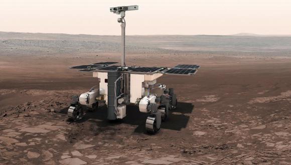 Investigadores italianos anunciaron que por primera vez se tienen pruebas de la presencia en Marte de agua liquida. (Foto referencial: EFE)