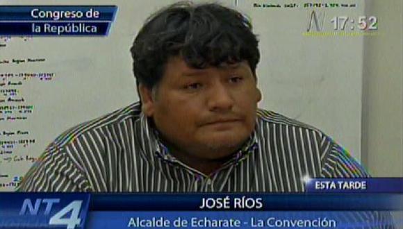 El alcalde denunció que sus pedidos por mayor presencia policial nunca fueron atentidos. (Canal N)