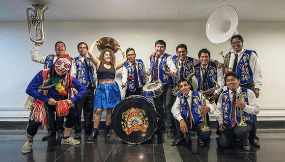 La orquesta show La Patronal presenta su primer disco. (Facebook: lapatronal.pe)
