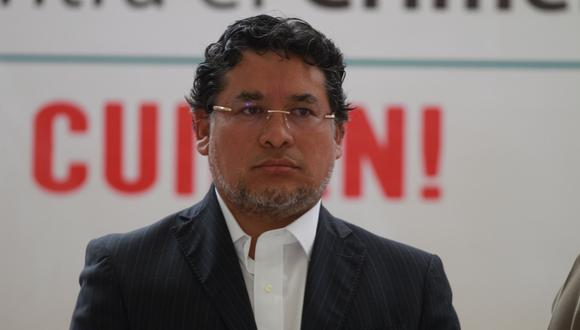 Ruben Vargas fue viceministro de orden interno durante la gestión de Basombrío. (Archivo)
