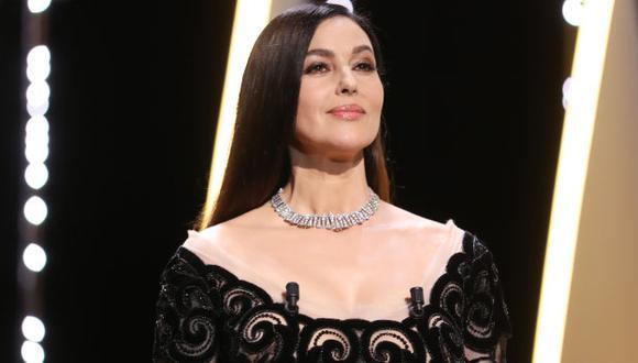 Mónica Bellucci está contenta con su nuevo rol en 'En la vía láctea'. (AFP)