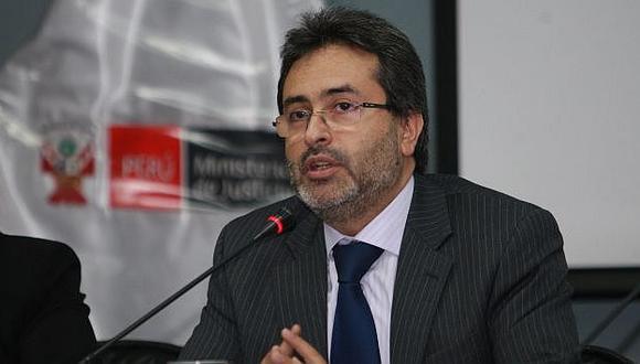 Titular de Justicia dijo que el bloqueo fue para evitar que se utilizaran recursos para otros fines. (Andina)
