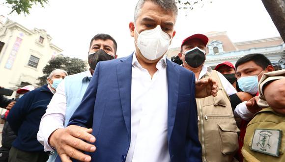 Poder Judicial evaluó pedido de impedimento de salida de Julio Guzmán, excandidato del Partido Morado (GEC).
