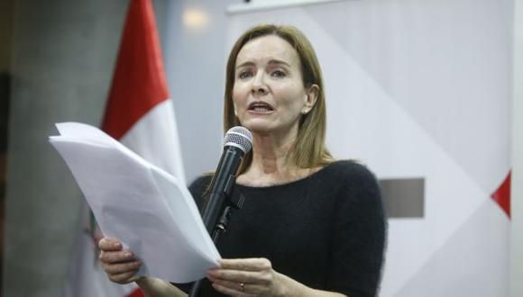 Ministra Martens indicó que de todas maneras se aplicarán descuentos. (Perú21)