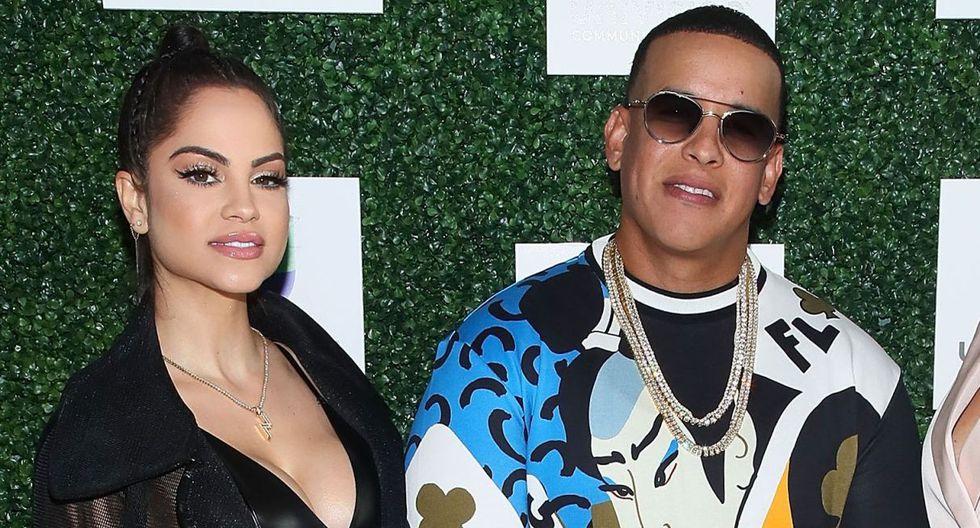 Natti Natasha y Daddy Yankee fueron grabados en un estudio. (Foto: AFP)