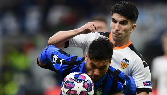 Atalanta goleó 4-1 al Valencia en el duelo de ida de la llave. (Foto: AFP)