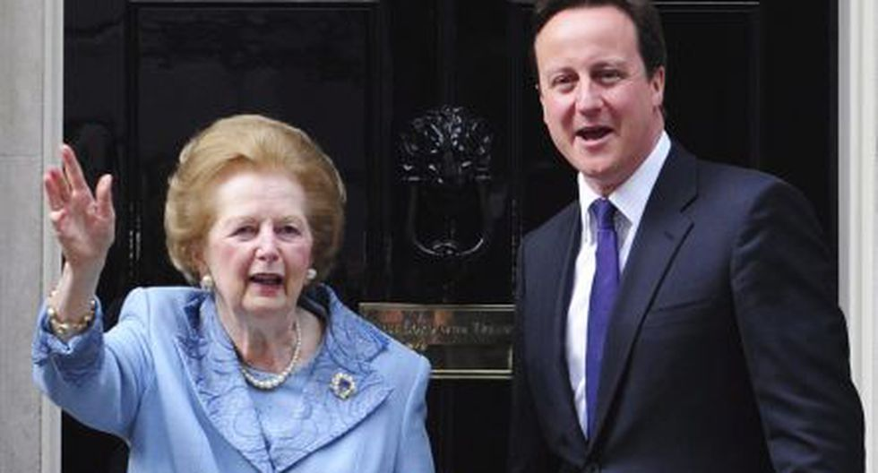Imagen del 2010 junto al primer ministro británico, David Cameron. (EFE)
