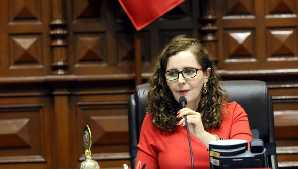 Rosa Bartra evita comprometerse a aprobar todas las reformas políticas del Ejecutivo (Congreso).