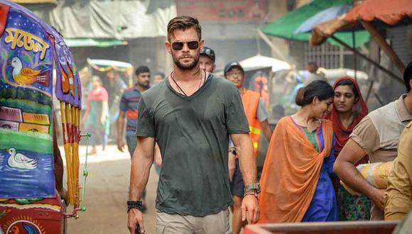 Tyler Rake es un mercenario que recibe la misión de rescatar al hijo de un gánster indio y que hace hasta lo imposible para cumplir su cometido (Foto: Netflix)