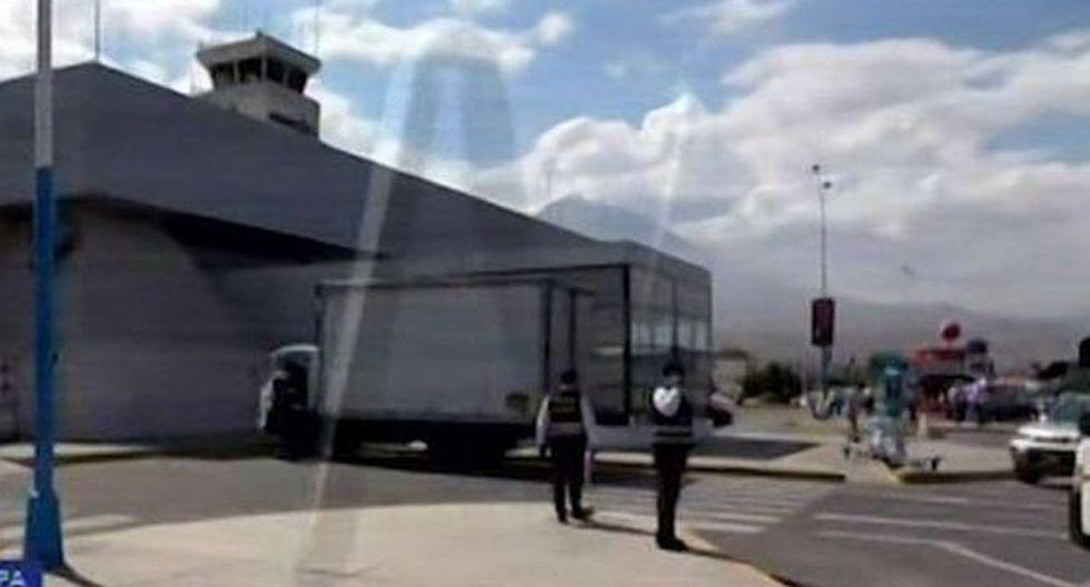 Se han activado todas las alertas en el aeropuerto Rodríguez Ballón. (Foto: Captura/Canal N)