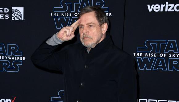 Mark Hamill se unió a Lucasfilm con un video en el que aparecen decenas de seguidores de la saga galáctica de todo el mundo. (Foto: AFP)