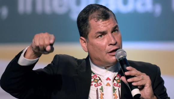 """Llama """"microbio"""" a Palacio. (AFP)"""