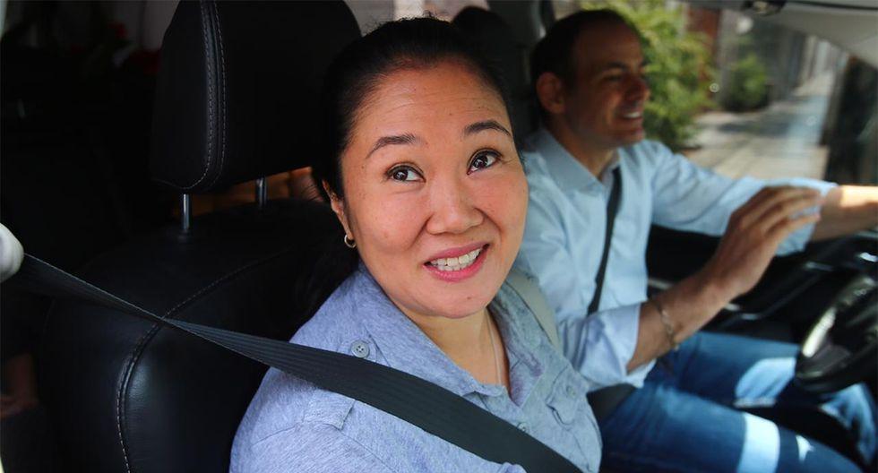 Keiko Fujimori indicó que está centrada en recuperar el tiempo y espacio con su familia. (Foto: Hugo Curotto / GEC)