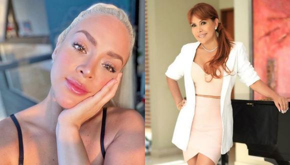 Magaly Medina se burla de Sheyla rojas por sus operaciones estéticas | TROME