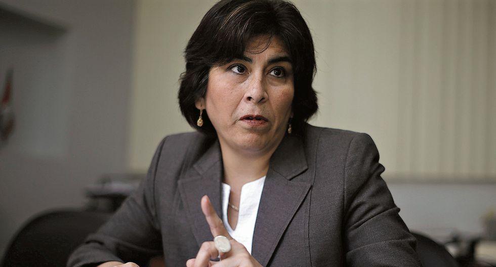 Janet Briones. Procuradora adjunta de Lavado de Activos. (Perú21)