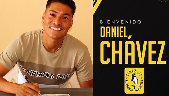 Daniel Chávez jugará en 2019 por la Academia Cantolao, club que lo formó desde las divisiones inferiores. (Foto: Twitter @ACantolao)