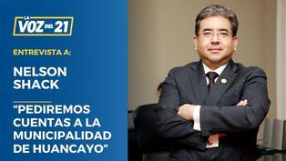 """Nelson Shack: """"Pediremos cuentas a la municipalidad de Huancayo"""""""