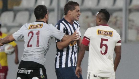 Walter Ibañez y Antonio Gonzales casi se van a las manos. (USI)