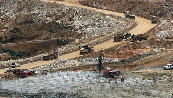 Proyectos mineros avanzan lentamente según el Banco Central de Reserva. (Bloomberg)