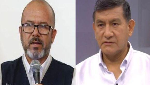 Víctor Zamora señaló que cargos en el Gobierno son temporales. (Composición)