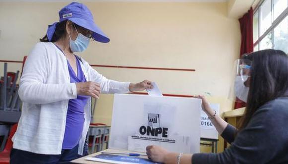 Los mismos protocolos de bioseguridad por la pandemia de COVID-19 se seguirían en la segunda vuelta electoral. (Foto: Andina)