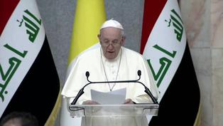 """""""Que callen las armas"""", reclama el papa Francisco en su visita histórica a Irak"""