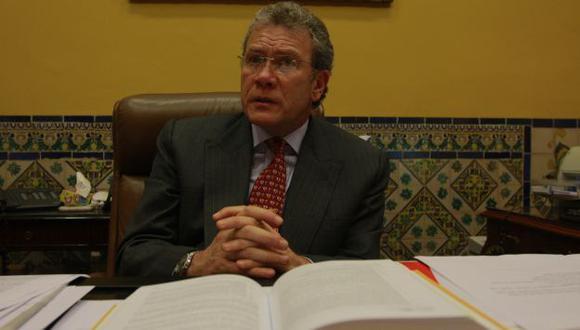 Días atrás, el canciller defendió la postulación de García-Sayán. (USI)