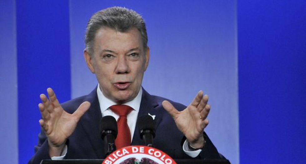 Juan Manuel Santos declaró un día después de que la Fiscalía señalara que recibió dinero de Odebrecht en campaña (AP).
