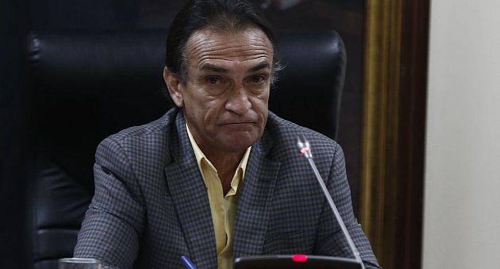 Héctor Becerril en contra de ley antitránsfuga. (USI)