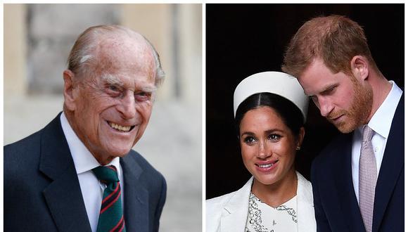 Mountbatten, el apellido de Felipe de Edimburgo que ahora lleva la hija de Meghan y Enrique. (Foto: AFP)