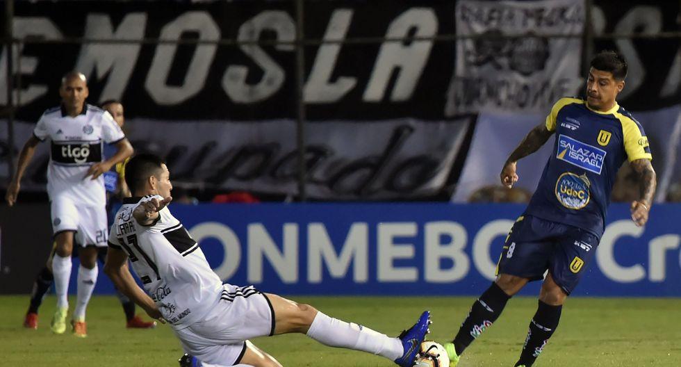 Olimpia igualó 1-1 ante U. de Concepción por la Copa Libertadores. (AP)