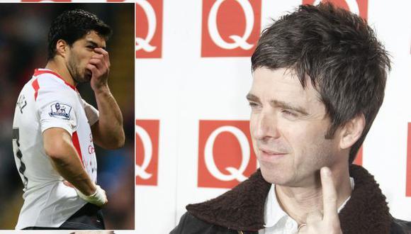 Noel Gallagher se burla del llanto de Luis Suárez tras empate del Liverpool. (EFE/AP)
