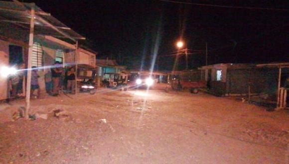 Sullana: exrecluso es abatido en balacera y presunto cómplice queda herido tras ataque a vivienda