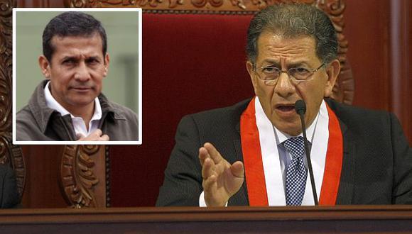 Urviola rechazó las palabras de Ollanta Humala. (USI)