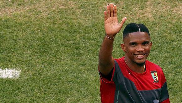 Samuel Eto'o ha jugado en 4 países en toda su carrera. (Reuters)