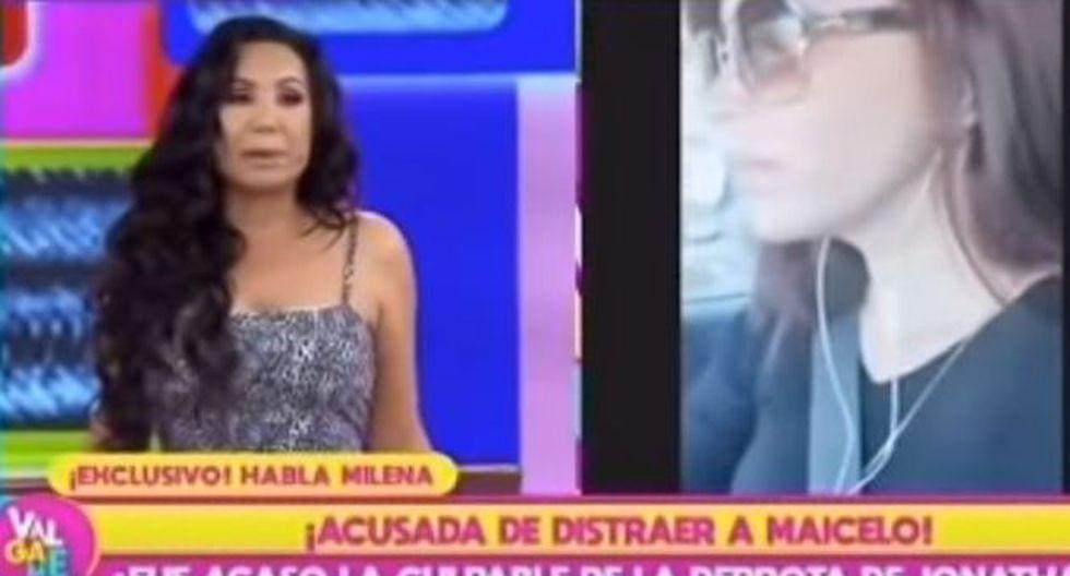 Janet Barboza y Milena Zárate se dijeron de todo en vivo. (Imagen: Latina)